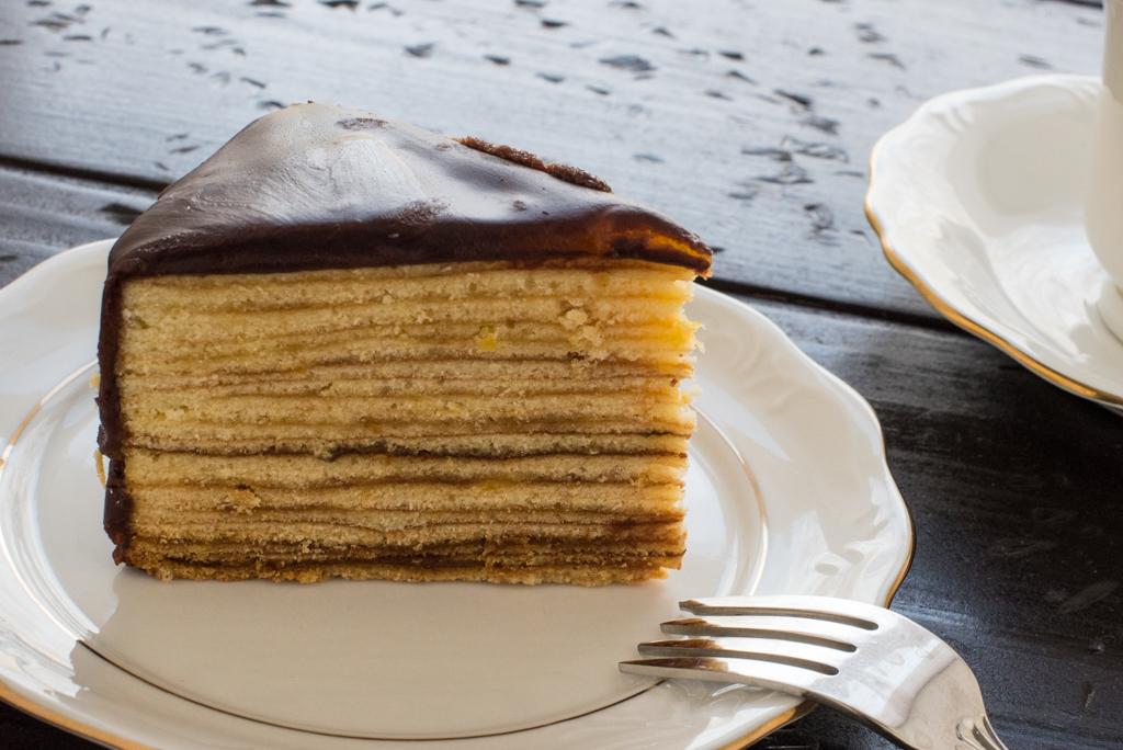 German Baumkuchen Tree Cake