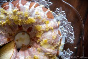 Lemon Hot Milk Bundt Cake